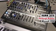 NAMM 2018: Pittsburgh Modular Microvolt 3900 Synthesizer