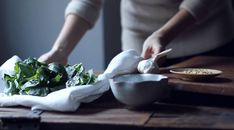 Classic Pesto recipe in action via kinfolk mag