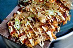 Japanske pannekaker «okonomiyaki»