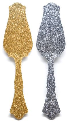 Glitter Tart Server eclectic kitchen tools
