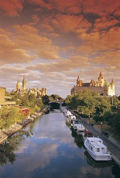 Rideau Canal, Ottawa, Ontario, Canada | by The National Capital Commission, via Flickr  Want to live near this gorgeous Ottawa landmark? Search homes for sale at http://www.ottawarealestate.ca/idx/