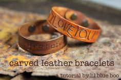 Hand Carved Bracelet for Father's Day