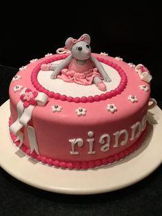 Angelina ballerina taart
