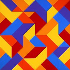Karl Benjamin - 52 Artworks, Bio & Shows on Artsy Post Painterly Abstraction, Abstract Art, Hard Edge Painting, Painting Edges, Geometric Shapes Art, Image Deco, Barn Quilt Patterns, Shape Art, Images Wallpaper