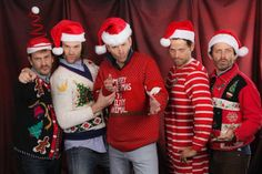 Misha's Tweet: I've recently joined a gang. We call ourselves The Badass Elves & we're not to be messed with. #SPNChristmasFun                                                                                                                                                                                 Plus