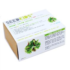 seedkids* grow your own salad leaves kit