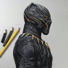 WANT A SHOUTOUT ?   CLICK LINK IN MY PROFILE !!!    Tag  #DRKYSELA   Repost from @rayhan_art   Black Panther drawing using ProMarkers and colour pencil. It was a struggle using the black pencil   Reference photo from @johnaslarona  #blackpanther #drawing #marvel via http://instagram.com/zbynekkysela