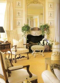 Charles Faudree. Eye For Design: Decorating With Louis XV Style French Mantles