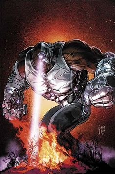 Cyborg Monsters of the Month (Cover art by Mikel Janin) Cyborg Dc Comics, Arte Dc Comics, Grimm, Les Nations Unies, Adventures Of Superman, Univers Dc, Silver Age Comics, Dc Comic Books, American Comics