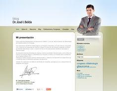 Jose Belda Blog. Personalized Wordpress CMS. Alicante. 2012.