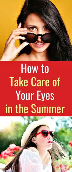 How to Take Care of Your Eyes in the Summer  - Taking care of your eyes should be among the first things to consider before you even think about where to spend your summer holidays. Putting on protective glasses, a hat, regularly washing your hands, taking breaks from computer, smartphone or TV screens are some of the things you can do to protect your eyes. #eyes  #eyehealth  #eyecare  ##eyesight  #protectingyoureyes  #summereyecare  #summer