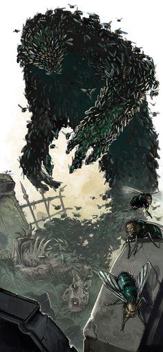 Ruin Demon by *BenWootten on deviantART