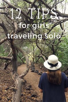 traveling solo tip
