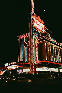 Vegas world in las vegas lost nightscape in 2019 Casino Party Games, Casino Movie, Casino Night Party, Casino Theme Parties, Vintage Hotels, Casino Poker, Video Games For Kids, Las Vegas Nevada, Sin City
