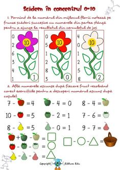 fise matematica dificultate ridicata 5-7 ani | Cu Alex la gradinita Alphabet Tracing Worksheets, Nursery Activities, School Frame, Workout For Beginners, Beginner Exercise, Math For Kids, Math Lessons, Education, Maths