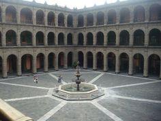 Palacio Nacional de Mexico.