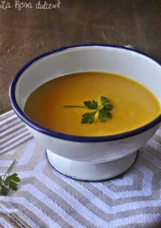 La Rosa Dulce: Crema de zanahoria al curry Thai Red Curry, Healthy Lifestyle, Cooking Recipes, Yummy Food, Meals, Fruit, Ethnic Recipes, Desserts, Food Food