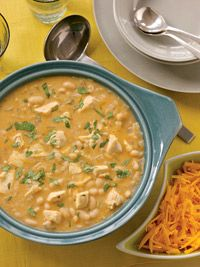White Chipotle Chicken Chili is a great dish to make ahead when you know company is coming, and is easily doubled for a big crowd.