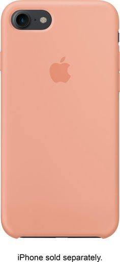 Apple - iPhone 7 Silicone Case - Flamingo (Pink)