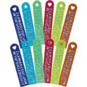 Alphabet Rulers 12ct- Value Packs, 12-18ct- Girls Party Favors- Birthday Party Favors- Birthday Party Supplies - Party City