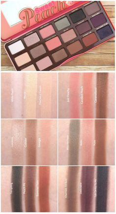 Too Faced Summer 2016 Sweet Peach Eyeshadow Palette: Review and Swatches