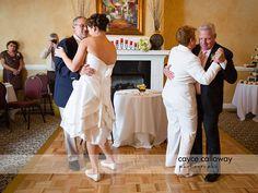 Father and Bride Dances at a Wedding at Payne Corley House, Atlanta GA