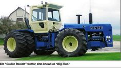 Kinze. Dual 8v71s with JD 5020 rearends