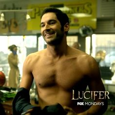 Take the shirt off of #Lucifer's back.