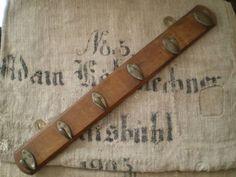Wood Hanger イギリスアンティーク木製ハンガー古いフック 什器 インテリア 雑貨 家具 Antique ¥9800yen 〆06月24日