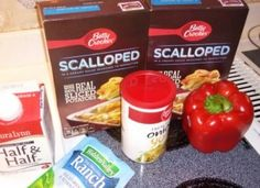 Easy Recipe ! Scalloped Potatoes quick cooking