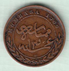 One Pice, Mombasa BEA 1888 (Arabic 1306)