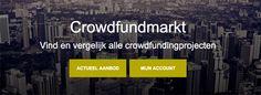 Crowdfundingmarkt - crowdfunding weer net een stapje makkelijker gemaakt.