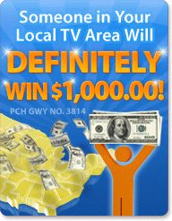"""PCH Search & Win: Win $5,000.00 A Week """"Forever"""" on August 28th! [Tony Casillas]"""