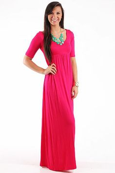 Dear to my heart maxi dress
