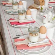 Tolle Tischdeko für ein Frühstück mit deinen Freundinnen