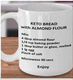 Stick to your diet with our keto stuffing recipes thanksgiving and Christmas recipe. This is a low carb stuffing/ keto dressing recipe for Thanksgiving. Keto Mug Bread, Low Carb Bread, Low Carb Keto, Keto Almond Bread, Ketogenic Recipes, Low Carb Recipes, Diet Recipes, Diet Tips, Cetogenic Diet