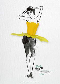 Maygreen: Floral Fashion, 1