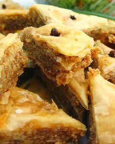 Warm Baklava with Nuts & Honey ~ Pioneer Woman's Recipe ... #healthy #Greek #dessert