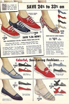 Vintage Shoes, Vintage Dolls, Vintage Outfits, Vintage Closet, Vintage Advertisements, Vintage Ads, Vintage Style, Vintage Magazines, Vintage Fashion 1950s