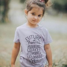 Who needs glass slippers when you can be shattering glass ceilings? Feminist clothing for kids Cute Little Baby Girl, Cute Baby Girl Pictures, Little Babies, Small Baby, Kids Girls, Cute Girls, Cute Babies Photography, Cute Baby Wallpaper, Belleza Natural