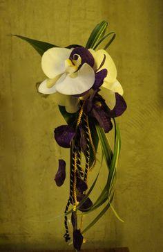 Japanese style Bouquet  by Sakie's Floral Design  www.hanasakie.com