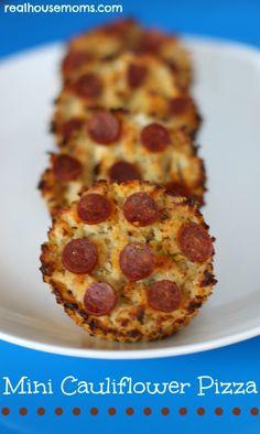 Mini Cauliflower Pizza