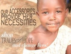 Shop Trades of Hope: empowering women in poverty to grow their own businesses. www.mytradesofhope.com/jamiegodtel