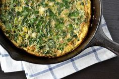 Spring Greens Frittata. Use our free range eggs for this recipe