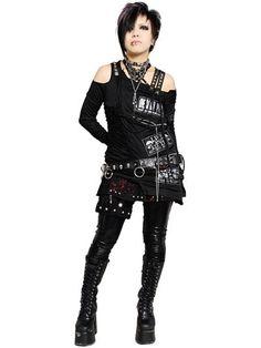 Custom PUNK STUDS FLAP Shorts Black x Red Painting. See more at: http://www.cdjapan.co.jp/apparel/sexpot.html #punk #jrock