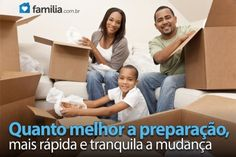 Familia.com.br | Como #preparar #caixas para #mudanca. #lar #familia