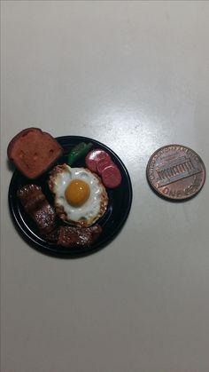 Desayuno de huevo estrellado