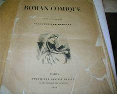 Le Roman Comique Par Scarron Illustre Par Bertall