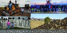 Direnişçiler kazandı, gazi askerler Kızılderililerden af diledi: Standing Rock-  #dakota