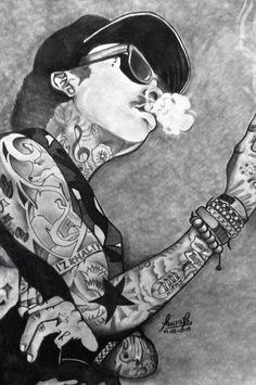 Wiz Khalifa Drawing